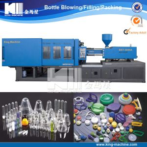 Automatic Bottle Preform / Plastic Cap Injection Moulding Machine pictures & photos