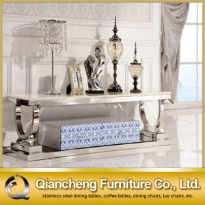 European Style Stainless Steel TV Stand pictures & photos