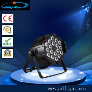 200W 6in1 RGBW High Power PAR Can AC90-245V pictures & photos