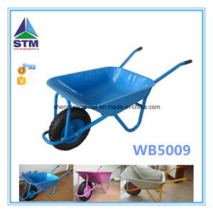 Wb5009 Stainless Pink Color Wheel Barrow
