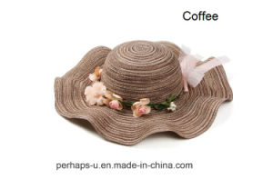 Lovely Wide Bill Sun Hats with Wavy Edges pictures & photos