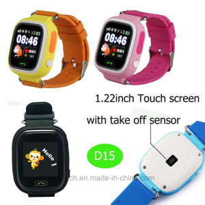 Touch Screen Kids GPS Tracker Watch with Real-Time Location D15 pictures & photos