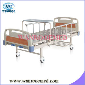 Bam200 ABS Two Crank Manual Aluminium Hospital Bed pictures & photos