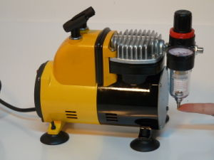 As18ck Airbrush Compressor and Kit Cosmetic Tattoo Kit pictures & photos