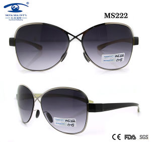 Top Grade Metal Designer Sunglass (MS222) pictures & photos
