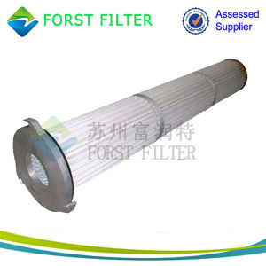 Forst Powder Convey Pleated Bag Cartridge Filter pictures & photos