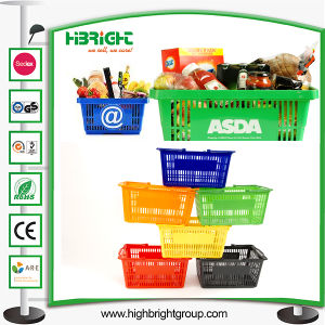 Hand Basket for Supermarket Grocery Store pictures & photos