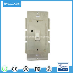 Z-Wave Wall Type Light Switch Smart Control Socket, Dimmer pictures & photos