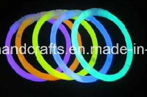 Custom Polyester Flashing LED Wristbands pictures & photos