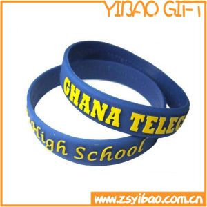 High Quality Silicone Bracelet with Advertising Gift (YB-w-23) pictures & photos
