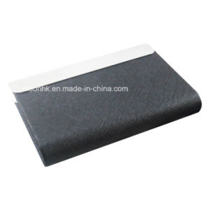 Latest Trade Show Promotios Large Capacity Leather Name Card Holder, Leather Business Card Holder (BS-L-022) pictures & photos
