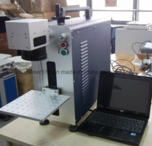 Economic Fiber Laser Marker/Desktop Cheap Laser Marking Machine pictures & photos