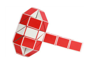 New Popular Folding Magic Cube Puzzle pictures & photos