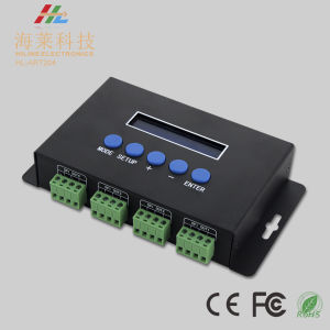 Artnet 5-24VDC LED Pixel Light 7A*4channel Spi Driver pictures & photos