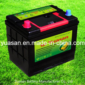 Yuasan 12V65ah Rechargeable Lead Acid Mf Car Battery-65D23r-Mf
