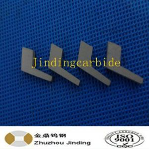 Nonstandard Tungsten Carbide Cutting Blade Flag Blade for Textile Tools pictures & photos