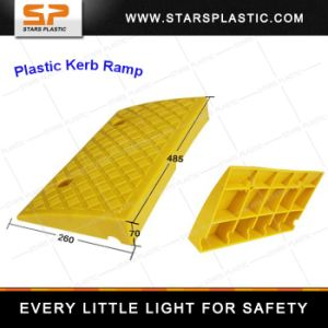 Kr-A75-23 Vehicle Climbing Rubber Ramp Yellow pictures & photos