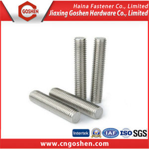 Ss304 Full Threaded Rod, Stainless Steel Stud M20 pictures & photos