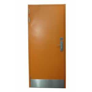 Airtight Steel Fireproof Hospital Door with Skirting Board