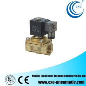 Exe PU Series Brass 2/2 Way Flow Control Solenoid Valve PU220-06 pictures & photos