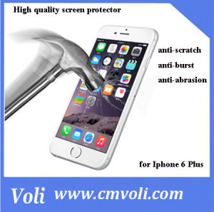 0.33mm Anti-Scratch Screen Protector Tempered Glass for iPhone 6 Plus pictures & photos