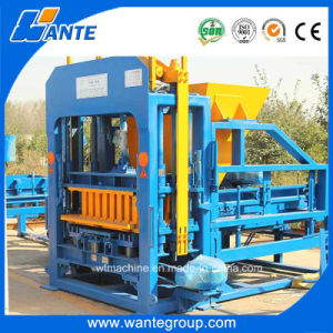Qt10-15 Automatic Paving Block Machine, Hydraulic Hollow Brick Making Machine pictures & photos