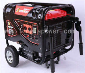5.5kw/5.5kVA New Type Super Silent Gasoline Generator with Wheels pictures & photos