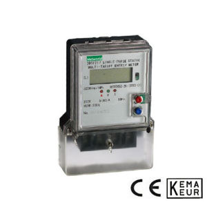 Single Phase Static Multirate Energy Meter Series pictures & photos