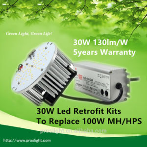 5year Warranty 130lm/W ETL 30W LED Retrofit Kits to Replace 100W Mh/HPS pictures & photos
