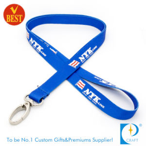Customized Logo Dye Sublimation Printed Lanyard in High Quality pictures & photos