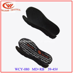 Top Selling Summer Sandals Outsole Outdoor Beach Sole with EVA and Rb Material pictures & photos