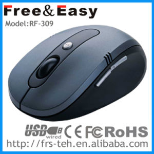 Fashion and Cool Ergonomic Design 6D Optical 2.4G Wireless Mouse pictures & photos