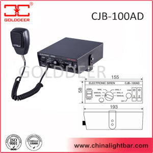 100W 24V Vehicle Alarm Electronic Siren (CJB-100AD) pictures & photos