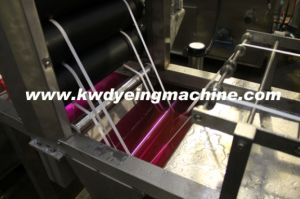 Polyester Elastic Webbing Continuous Dyeing&Finishing Machine with J-Box Storage pictures & photos