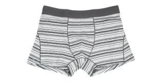 95%Cotton/5%Pendex Men Underwear Boxers Brief Fashion for 249-Black pictures & photos