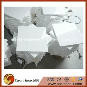 Popular White Crystallized Glass Stone Tile pictures & photos
