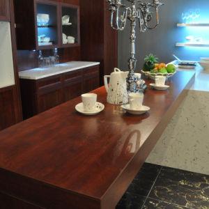 aluminium frame glass door modular home furniture vinyl wrap kitchen cabinet design