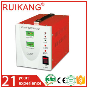 Single Phase 1500 Watt Automatic Voltage Stabilizer CE pictures & photos