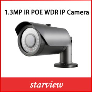 1.3MP WDR IR Poe Waterproof Bullet IP Camera pictures & photos