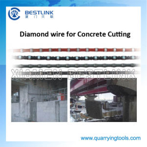 Bestlink Cutting Diamond Wire Rope for Concrete Cutting pictures & photos