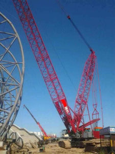 Used Fushun 400t Crawler Crane 2010 Year pictures & photos