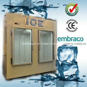 Bagged Ice Storage Bin with Embraco Compressor (DC-650) pictures & photos