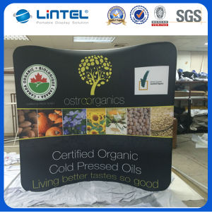 Vertical Curved Tension Fabric Tube Display (LT-24) pictures & photos