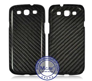 Import From China High Luxury Glossy/Matte Surface 100% Real Carbon Fiber Phone Case for Samsung Galaxy S3 pictures & photos