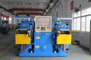 250t Rubber Silicone Platen Molding Machine with Ce&ISO9001 Made in China pictures & photos