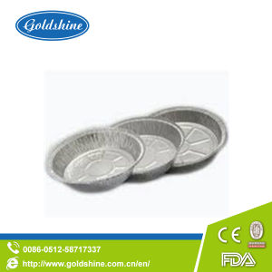 Disposable Round Aluminum Foil Muffin Pans pictures & photos