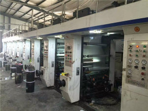 Used High Speed Seven Motors Multicolor Gravure Printing Machine pictures & photos