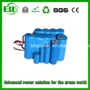 High Capacity Life-Po4 Battery Pack 26650 11.1V 3000mAh GPS Monitor pictures & photos