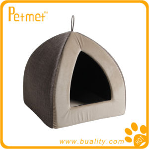 Luxury Pyramid Dog Bed with Removable Cushion (PT59350)