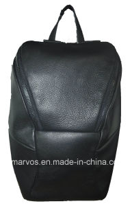 New Fashion PU Leather Women Backpack with Hight Quality (M10529)